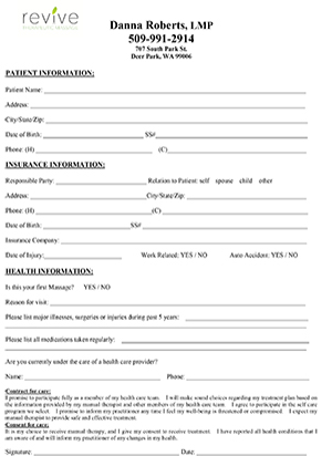 Forms \u2014 Deer Park Physical Therapy, Fitness Center, Pool, and Gym
