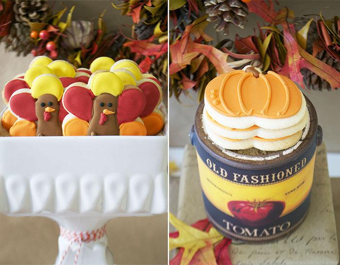 Pumpkin and Turkey Sugar Cookies - Adorable! \u2014 Bake Sale Toronto