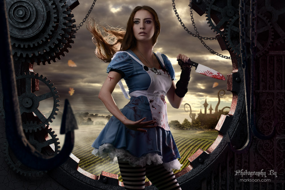Skyrim Girl Wallpaper Dark Alice Madness Returns Behind The Scenes Photography