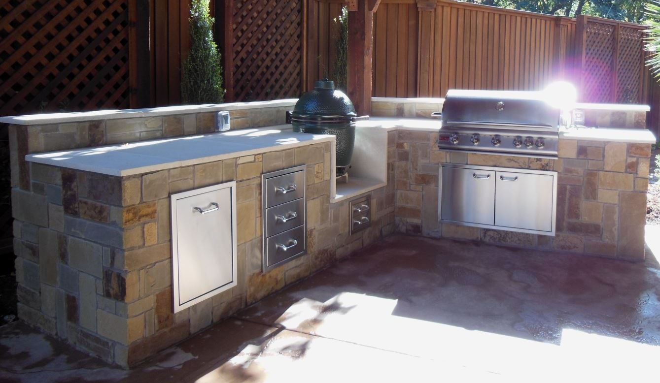 Outdoor Grill Mrz Contracting Outdoor Grills Fire Pits Stone Work