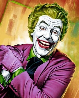 The Joker Animated Wallpaper Mondo S 1960s Batman Series Inspired Joker Art Geektyrant