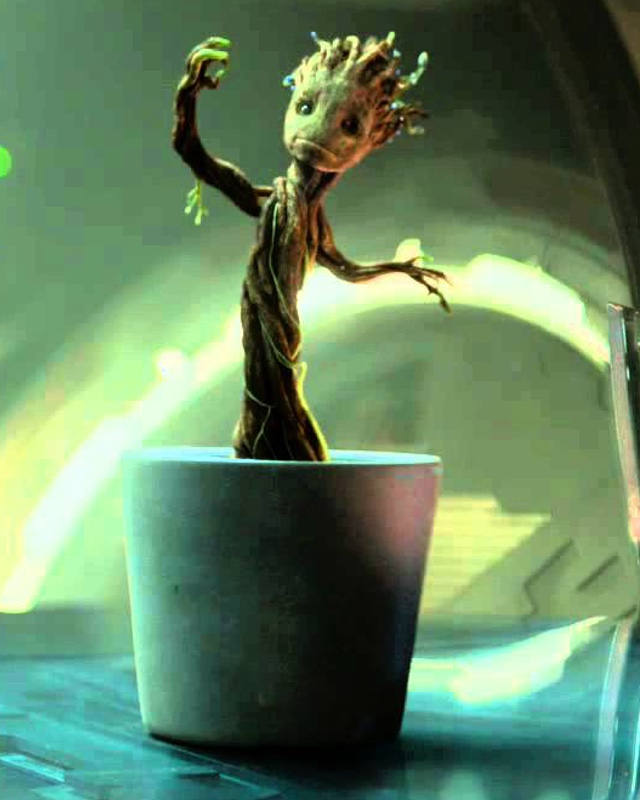 3d Moving Galaxy Wallpaper James Gunn On Why Baby Groot Didn T Want To Get Caught