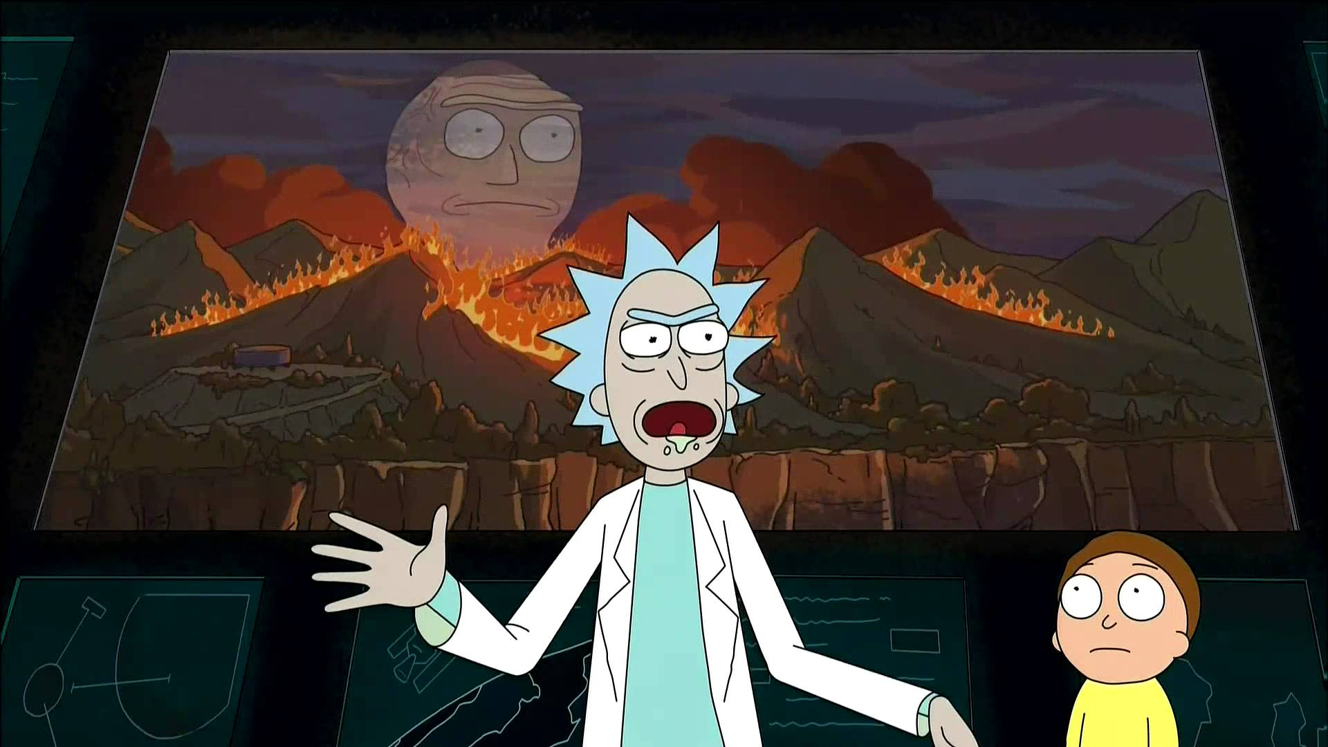 Anime Girl Funny Wallpaper Japanese Rick And Morty Clips Will Make You Question Anime
