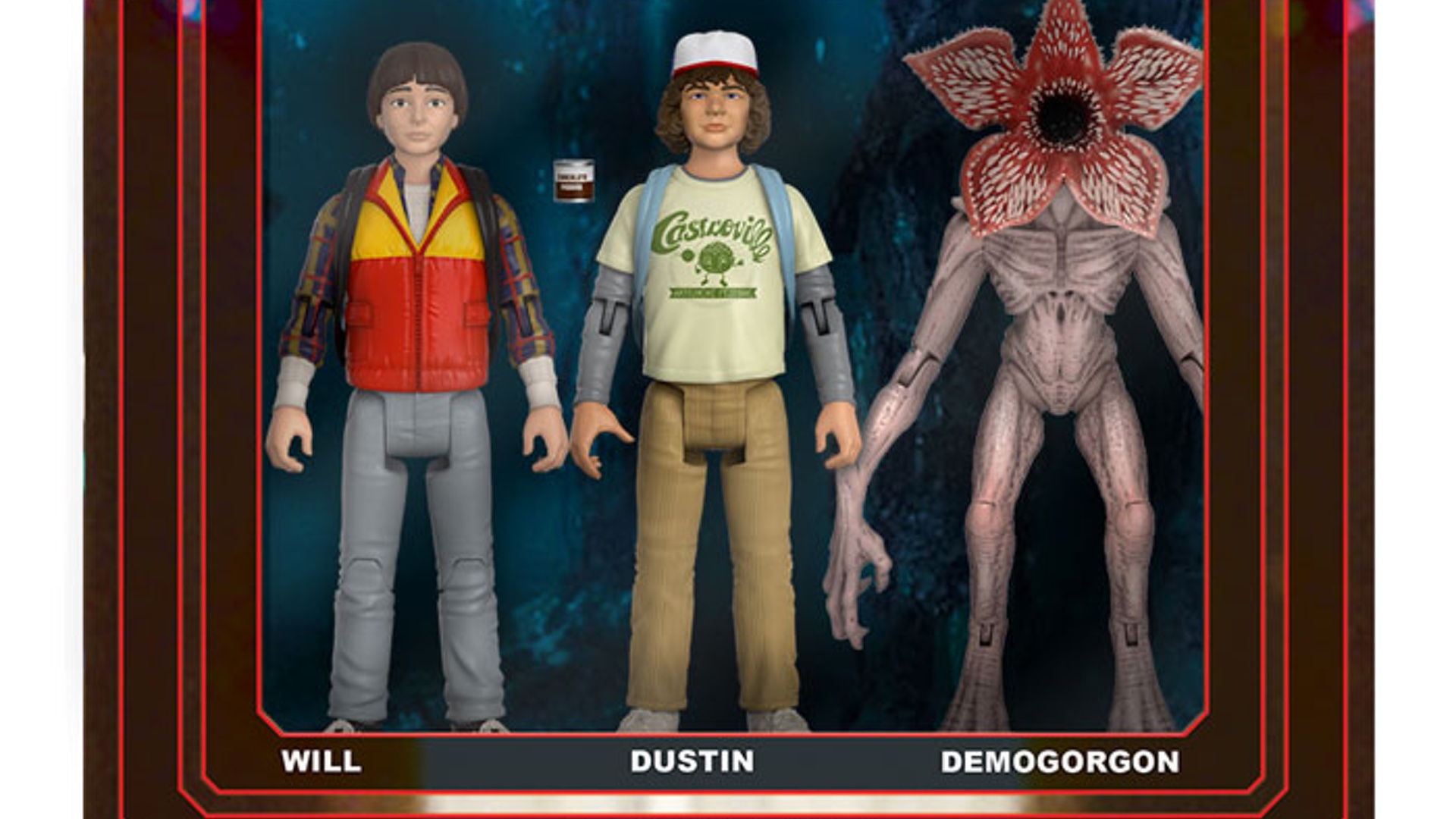 Retro Tv Bank A Series Of Retro Stranger Things Action Figures Are