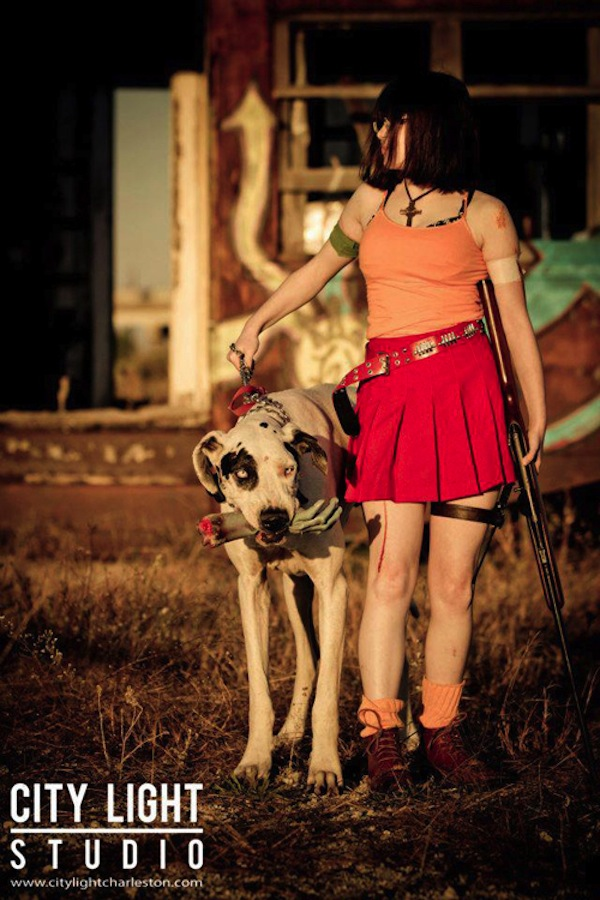 Really Cute Dog Wallpaper Apocalyptic Scooby Doo Daphne And Velma Cosplay Geektyrant