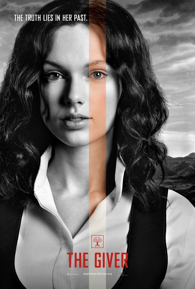 THE GIVER 8 Face Posters and 3 High Res Color Images \u2014 GeekTyrant