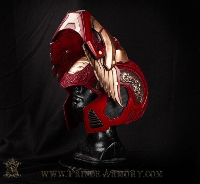 Spider Man 3d Live Wallpaper Pc Asgardian Style Iron Man Armor Is Super Stunning Geektyrant