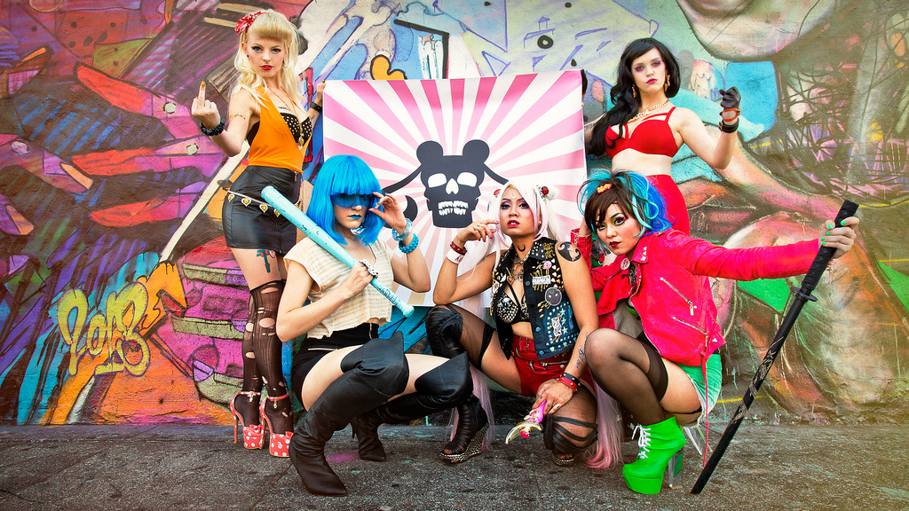 Hotline Miami Car Wallpaper Sailor Moon Biker Gang Cosplay Geektyrant