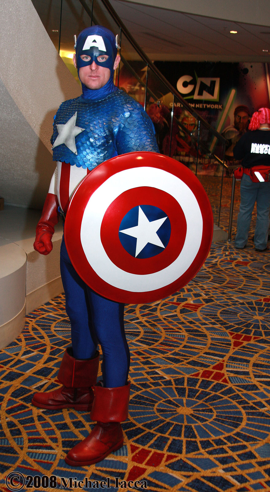Homepage Designer Captain America - Best Of Cosplay Collection — Geektyrant