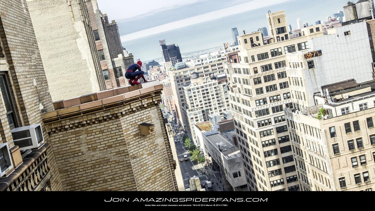 Spider Man 3d Live Wallpaper The Amazing Spider Man 2 Friendly Neighborhood Wallpaper