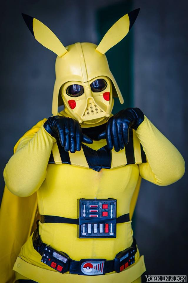 Girl Kill Boy Wallpaper This Bonkers Cosplay Combines Darth Vader And Pikachu