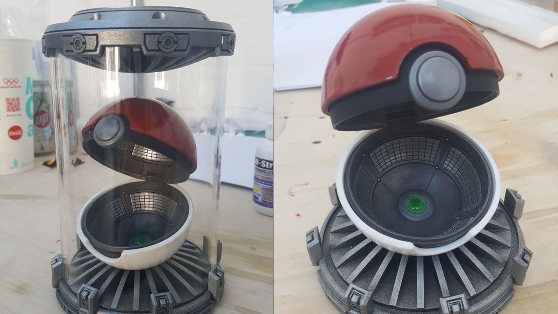 Replica ???? This Poké Ball Replica Has A Crazy Awesome Realistic Look