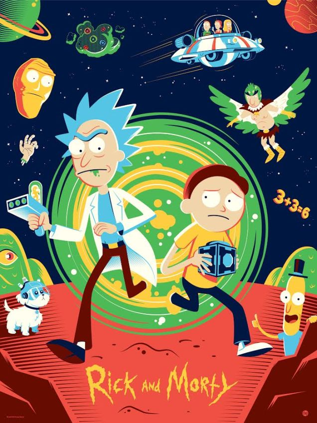 Gravity Falls Wallpaper Iphone 4 Rick And Morty And South Park Poster Art Created By Tom