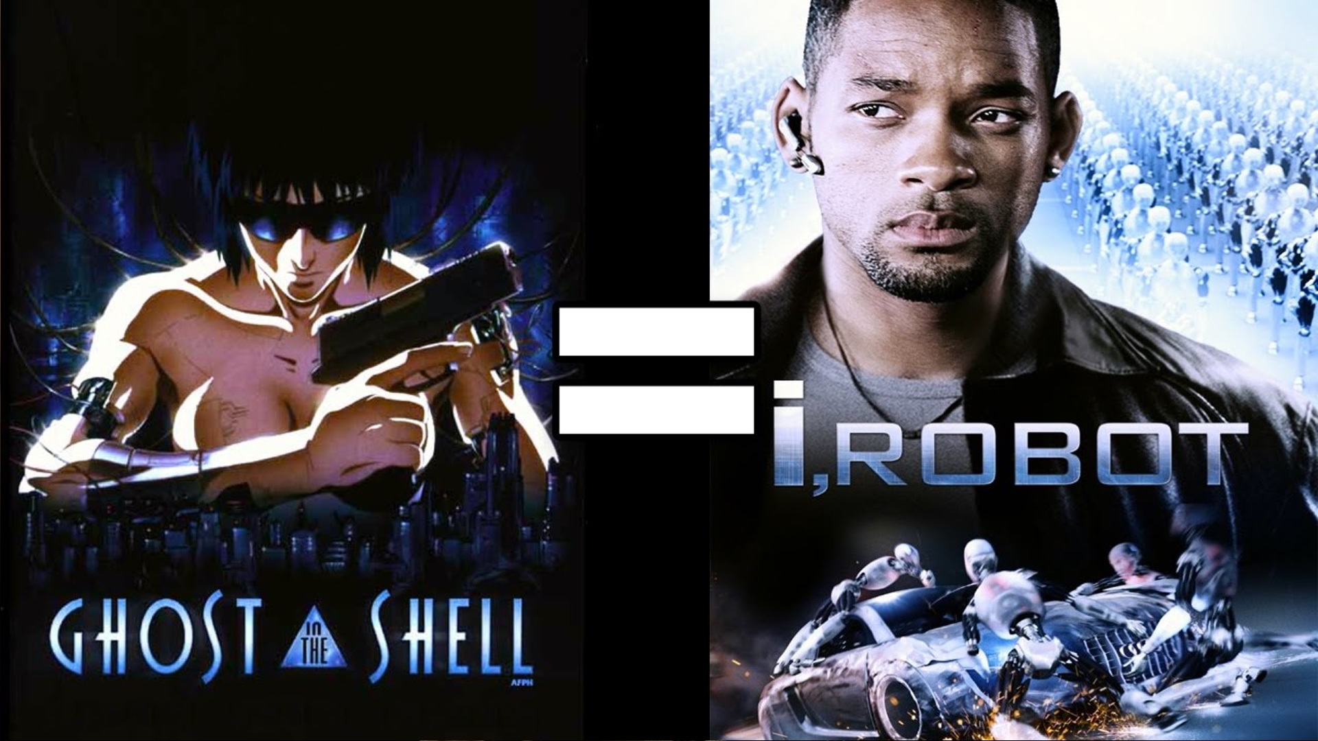 I Robot 24 Reasons Ghost In The Shell And I Robot Are The Same