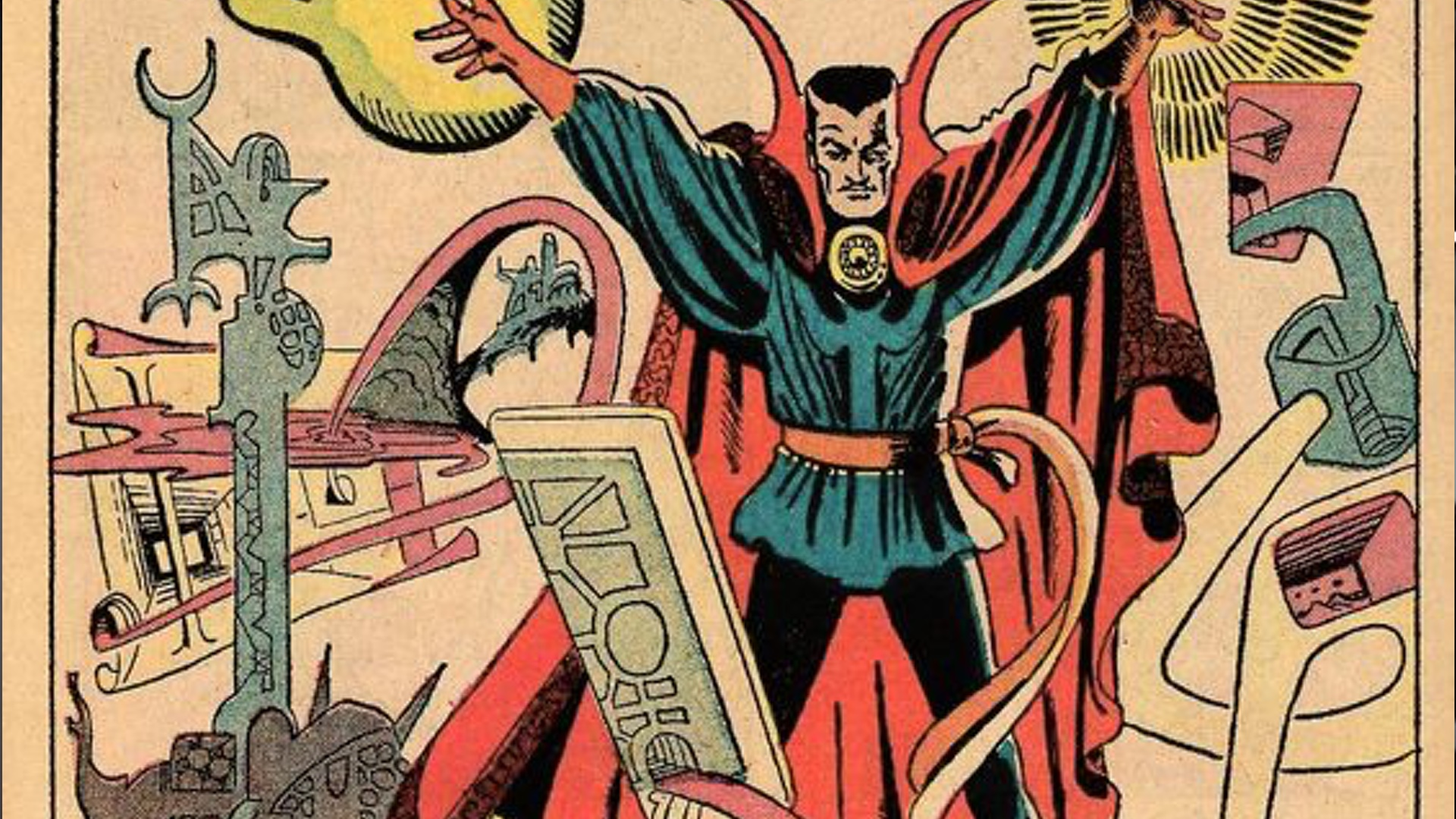 Comic Art In Honor Of Comic Artist Steve Ditko Here S Some Of His Beautiful