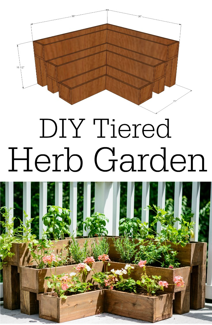 made of pallets refresh your eyes and mind with pallet gallery diy tiered herb garden tutorial decor and the dog diy tiered herb garden tutorial decor