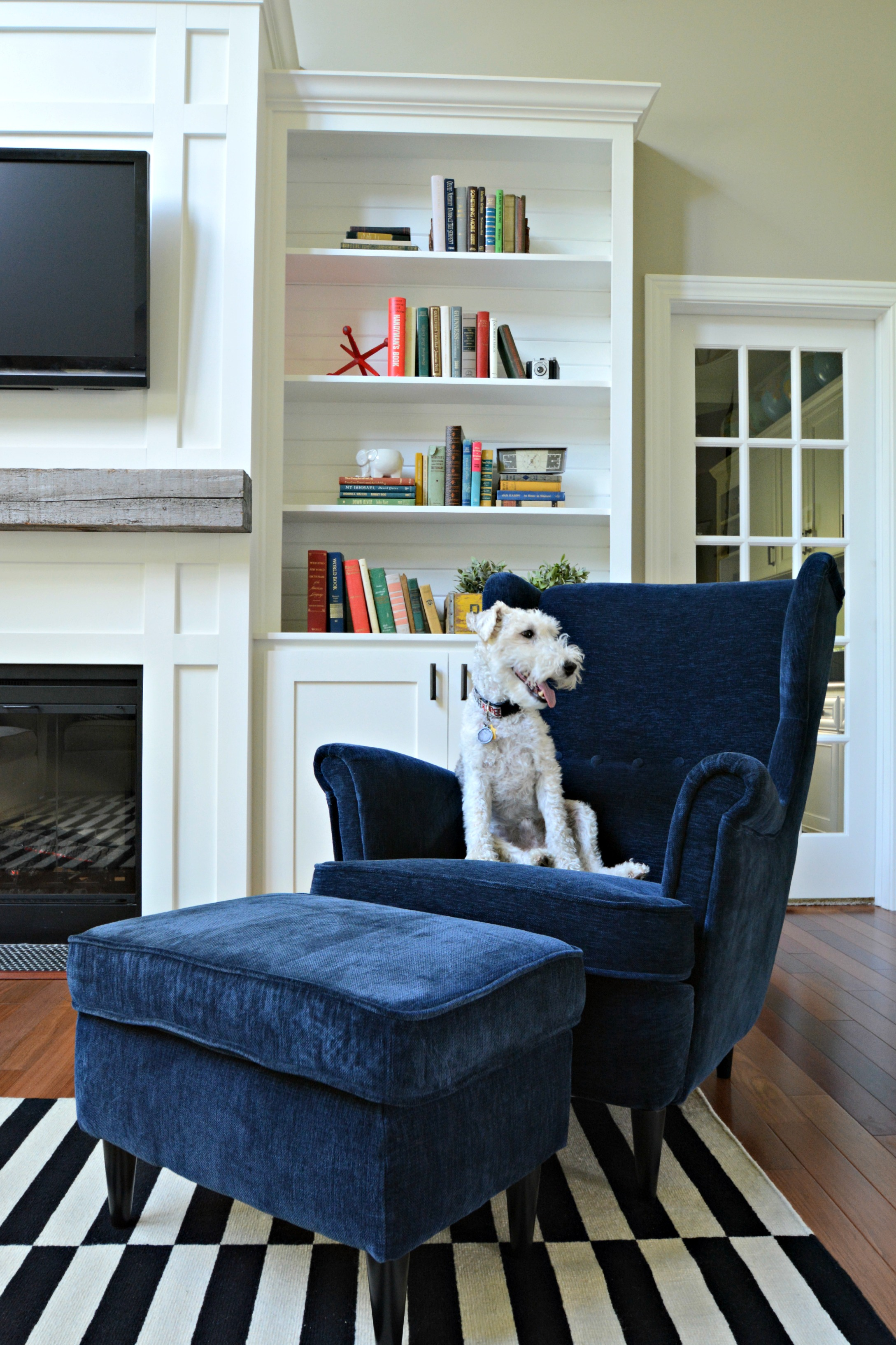 Strandmon Sessel Ikea Living Room Updates {ikea Stockholm Rug} — Decor And The Dog