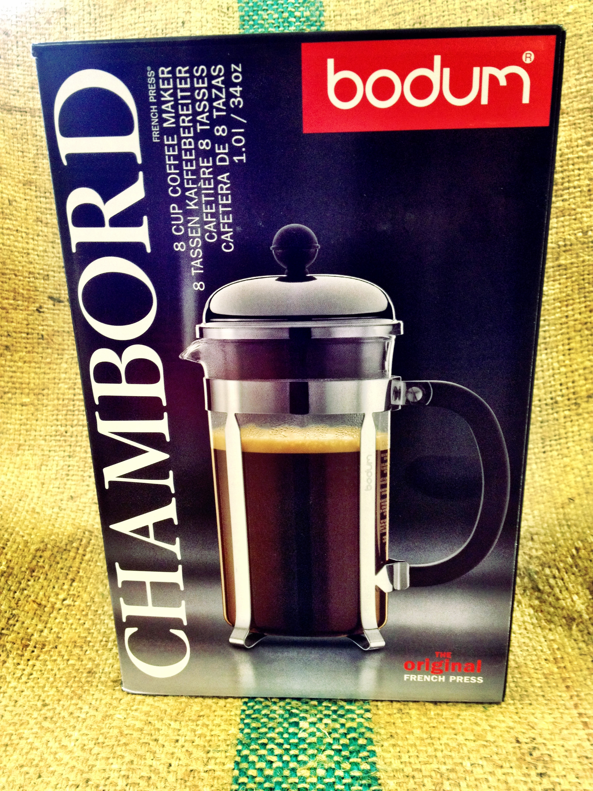Bodum Tassen Bodum Chambord 8 Cup French Press