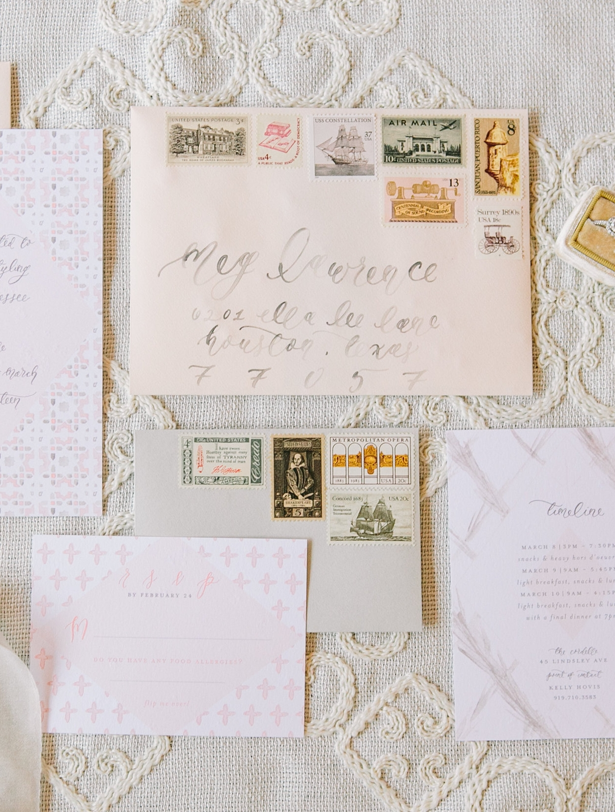 comparing wedding postage options standard usps postage custom postage and vintage postage stamps wedding postage stamps Vintage Postage Stamps from Verde Studio Comparing Wedding Postage Options Standard USPS Postage
