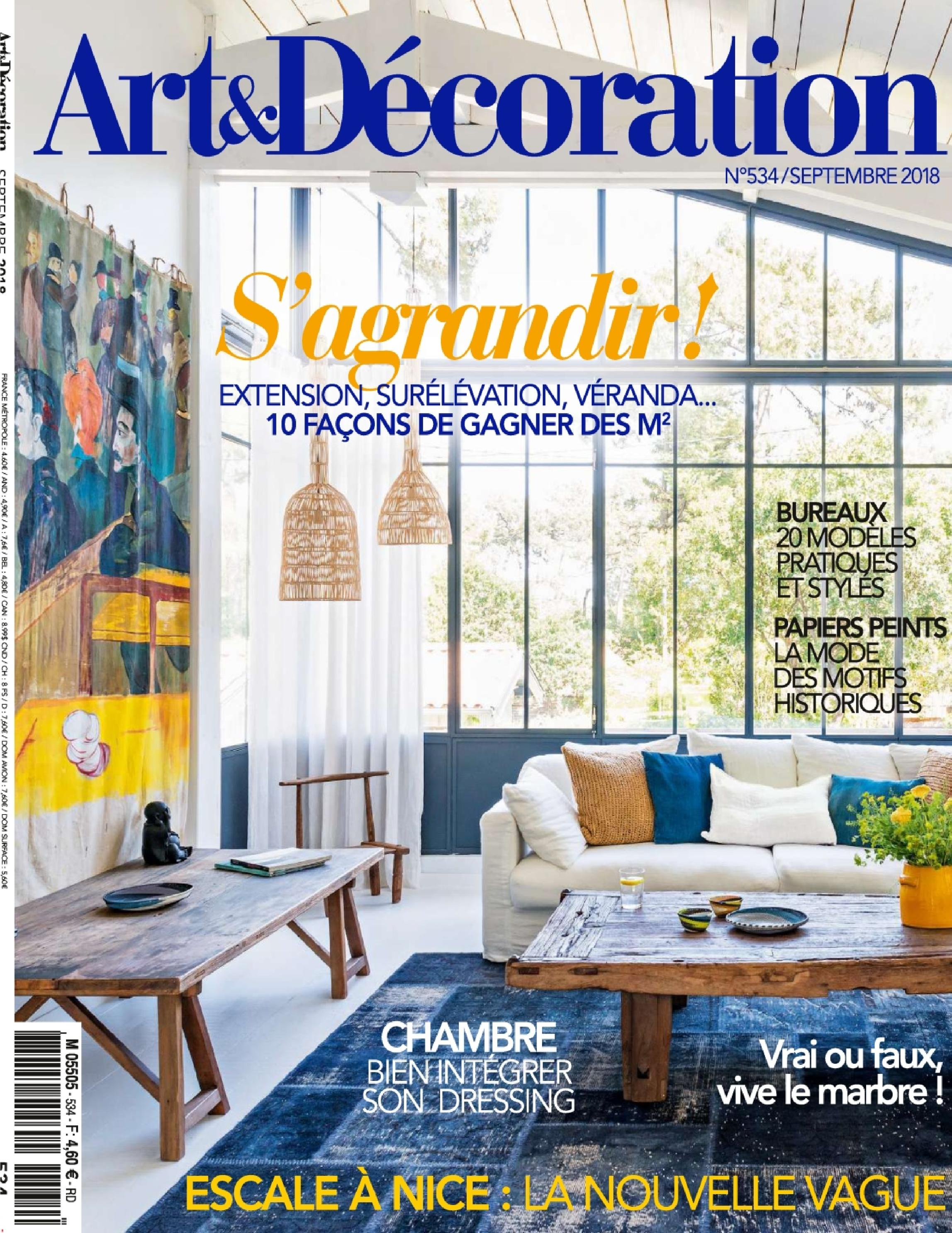 Art Et Decoration Art Decoration France September 2018 Handelsmann Khaw