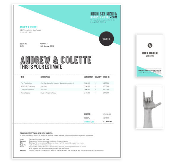 How to Design a Killer Invoice that Reflects Your Style \u2014 Mallory