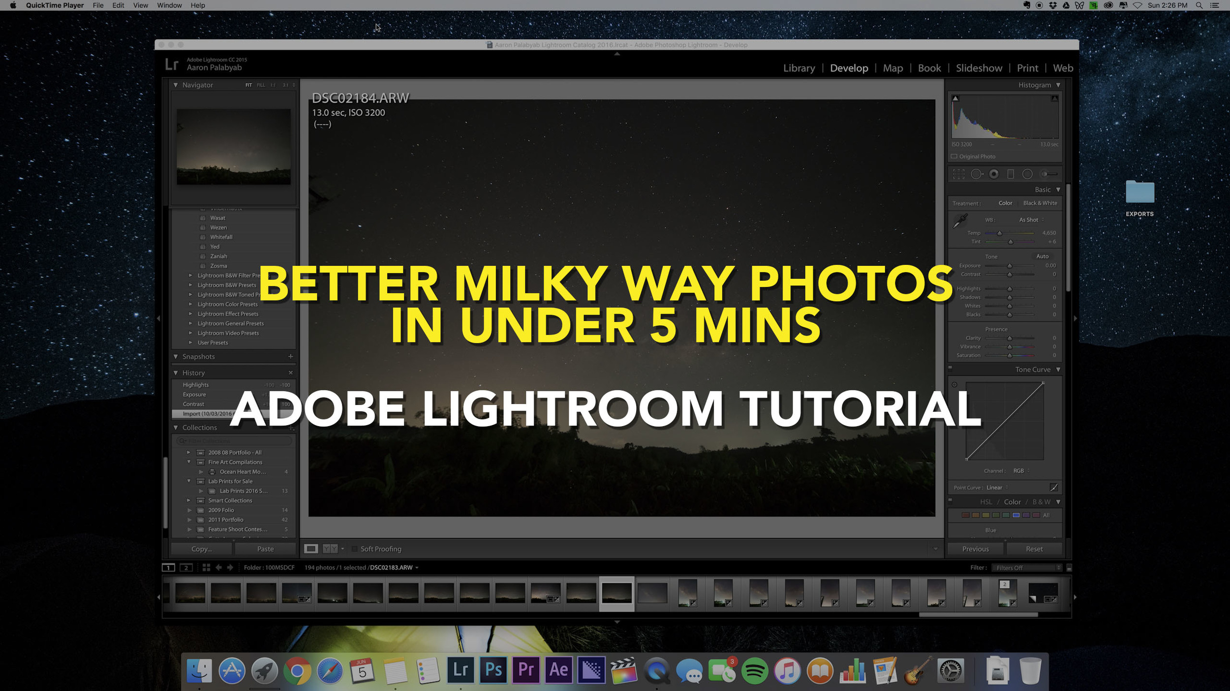 Photoshop 5 Better Milky Way Photos In Under 5 Minutes An Adobe Photoshop