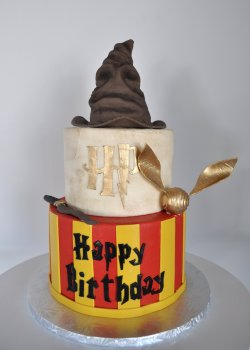 Small Of Harry Potter Cake