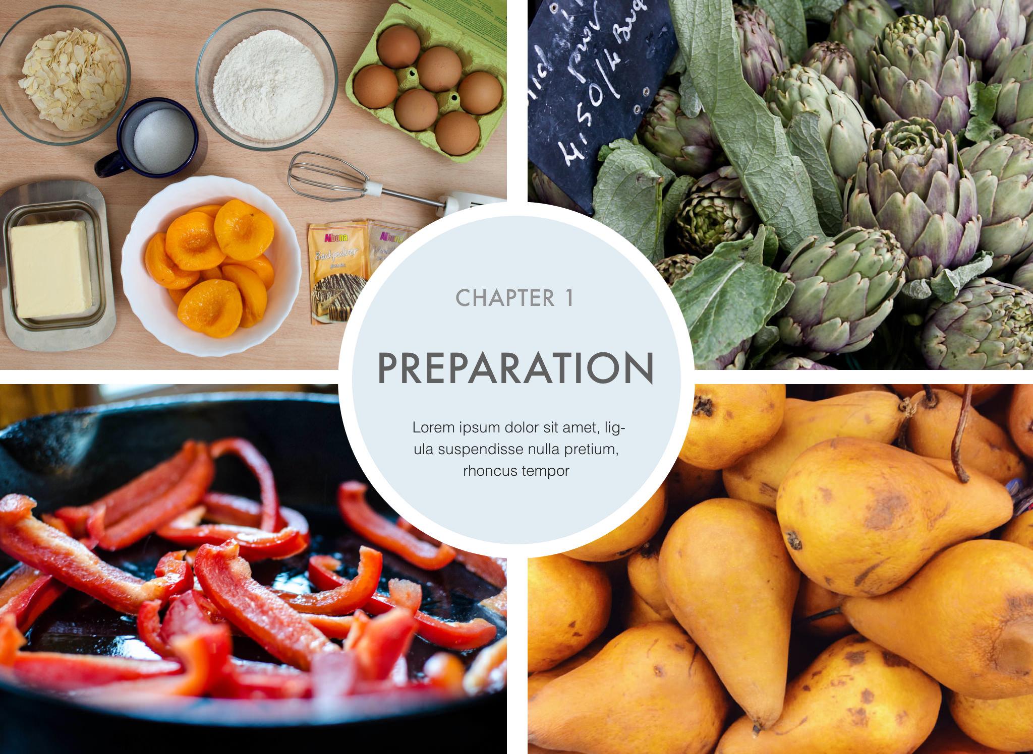 Recipe Book \u2014 Author Ready Templates