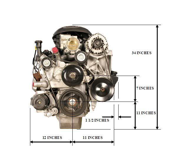 Engine Dimensions \u2014 BD Turnkey Engines LLC
