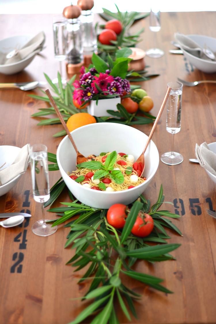 diy kitchen table ideas murphy kitchen table Kitchen Table Makeover Caprese Spaghetti