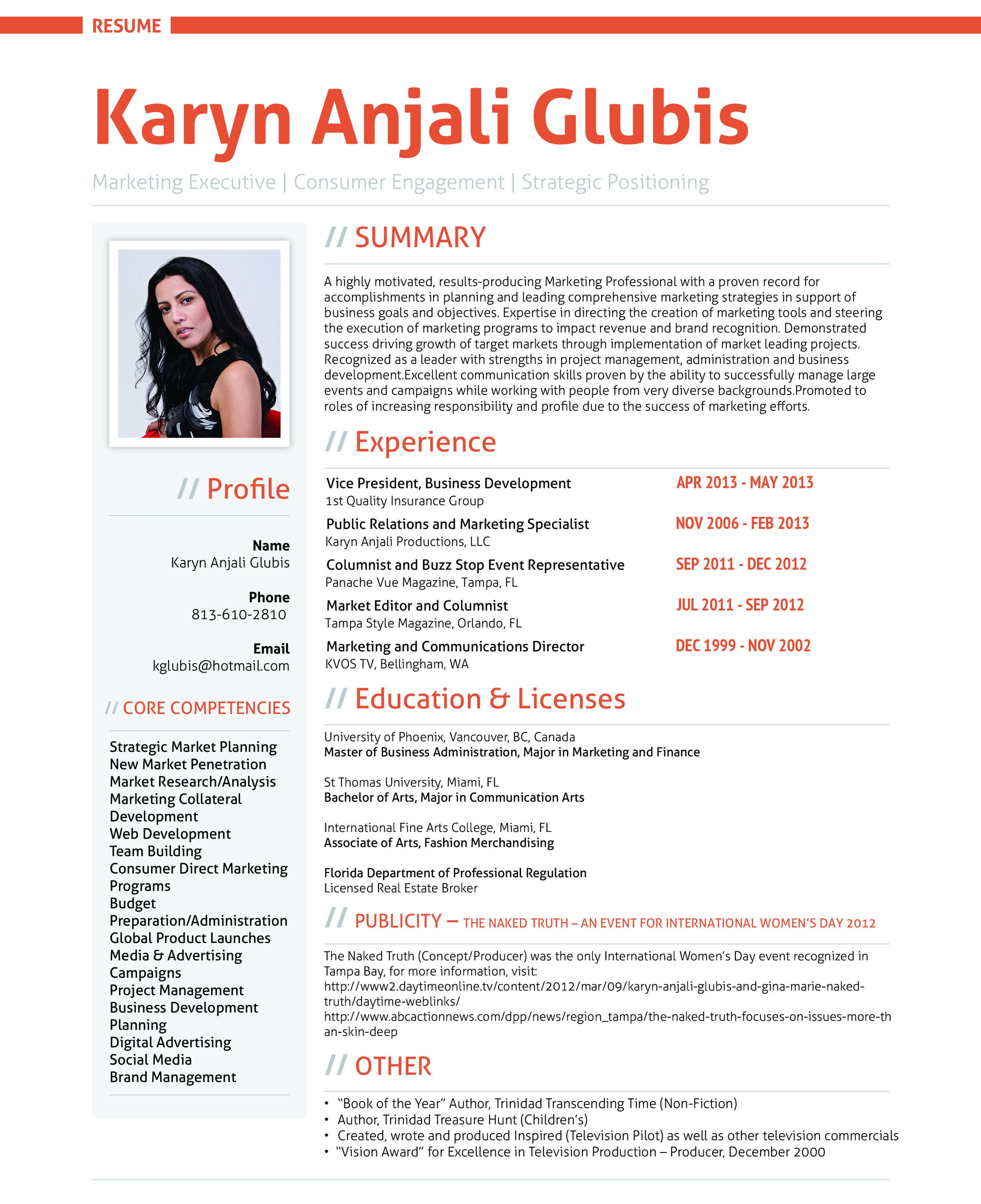 resume for job pic