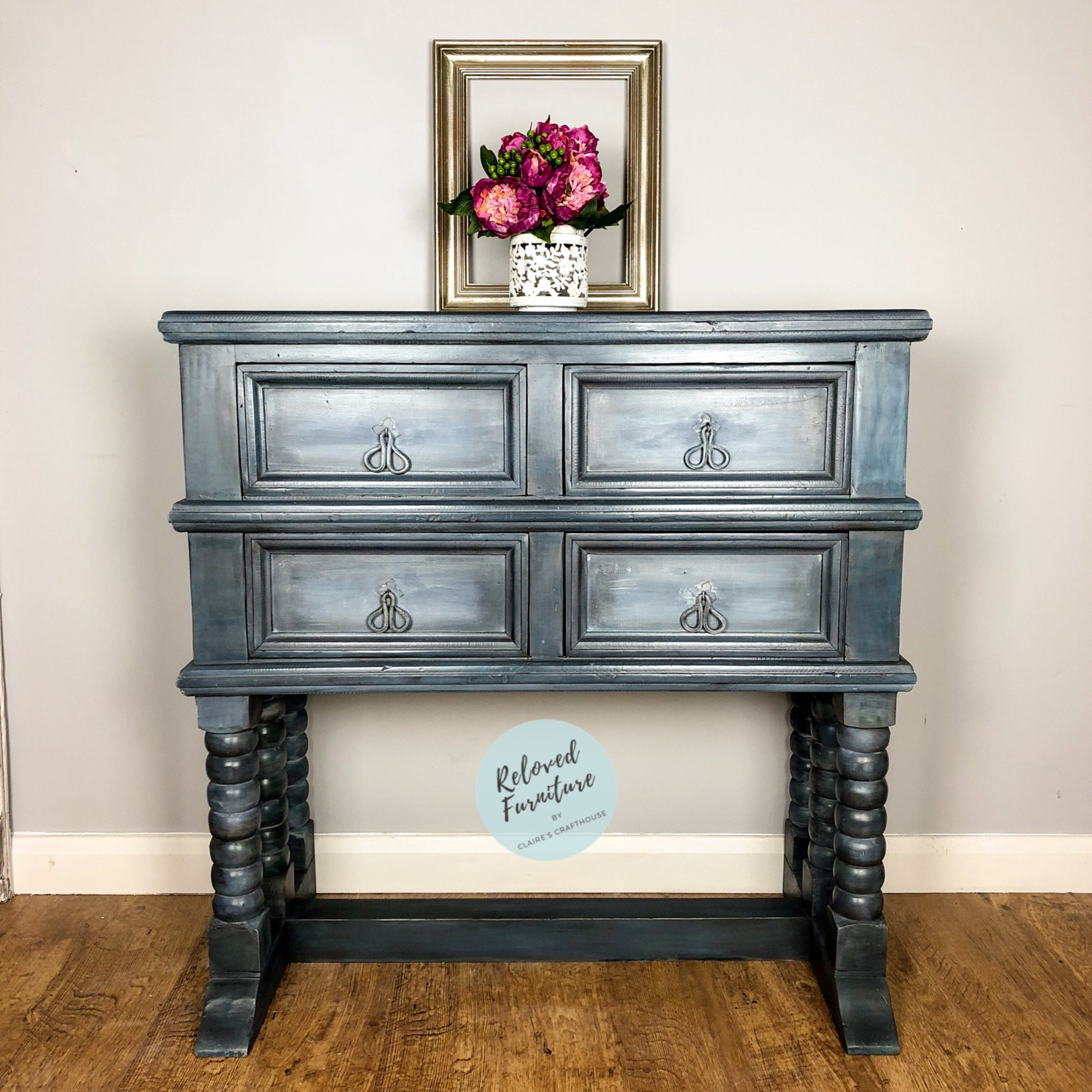 Buffet Sideboard Fantastic Furniture Sold Birds Blossom Solid Oak 4 Drawer Sideboard Buffet Console Claire S Crafthouse Furniture Paint Accessories Furniture