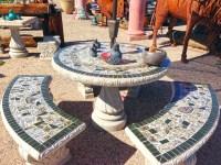 Concrete Furniture  Loya's Courtyard