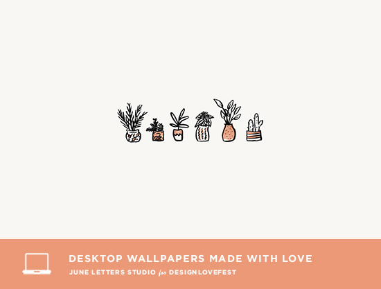 Cute Cactus Wallpaper Macbook 6 Free Desktop Wallpapers On Design Love Fest June