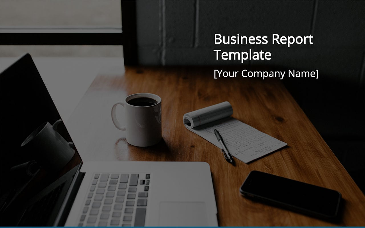 Business Report Template (PDF and PPT Download) \u2014 Slidebean