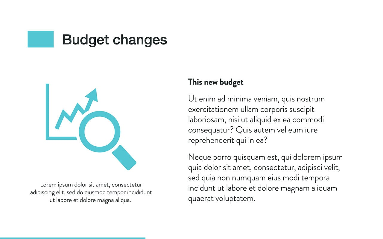 Business Budget Template (PDF, XLS, PPT Download) \u2014 Slidebean