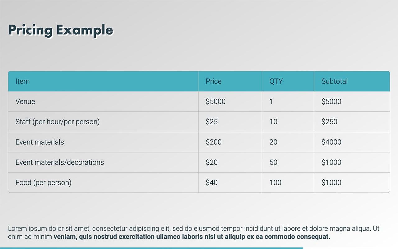 Event Proposal Template (Free PDF  PPT Download) \u2014 Slidebean