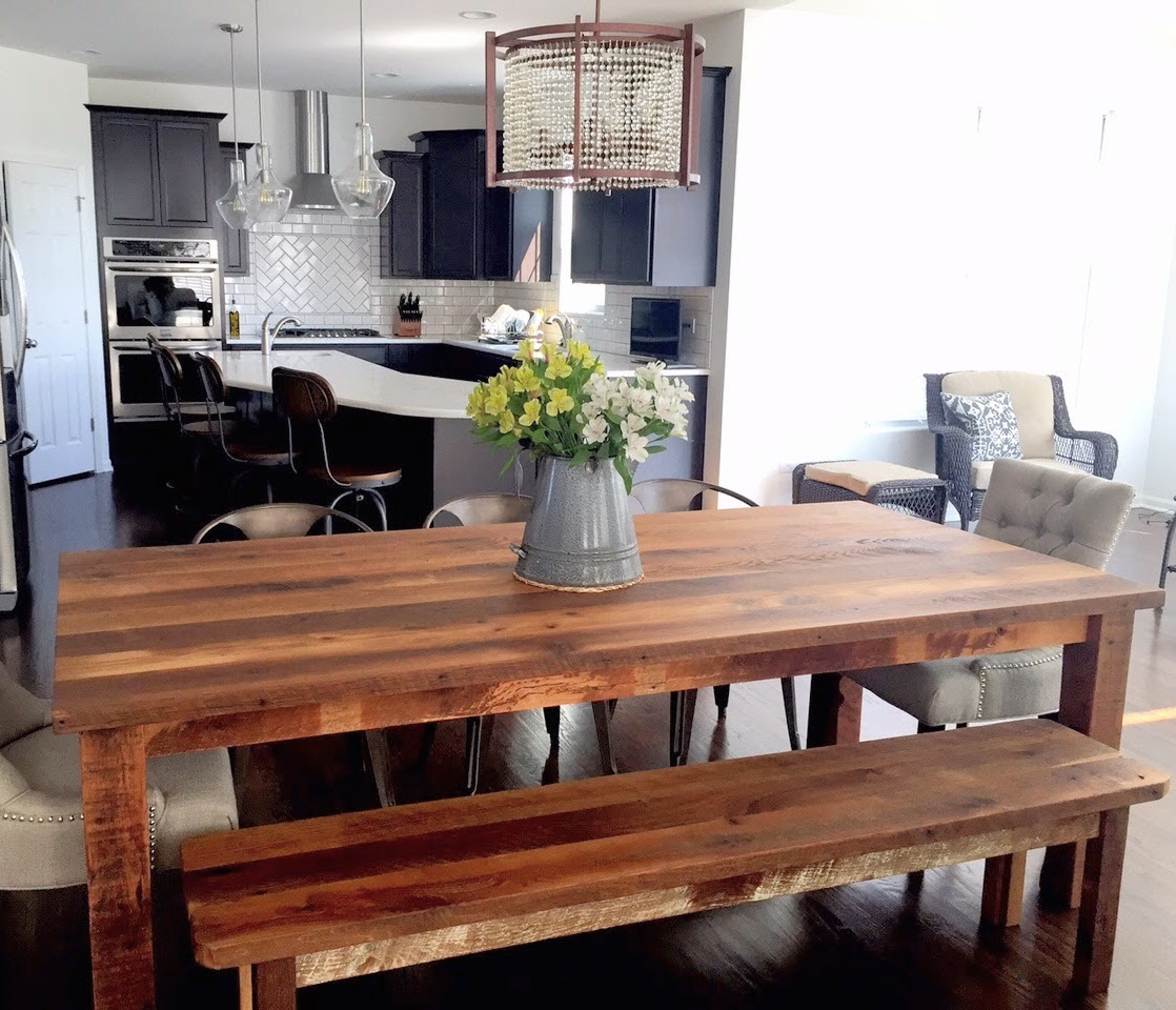 Timber Dining Tables And Chairs Reclaimed Wood Tables Barn Wood Tables What We Make