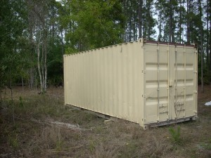 How To Paint A Container Shipping Containers At A Fair