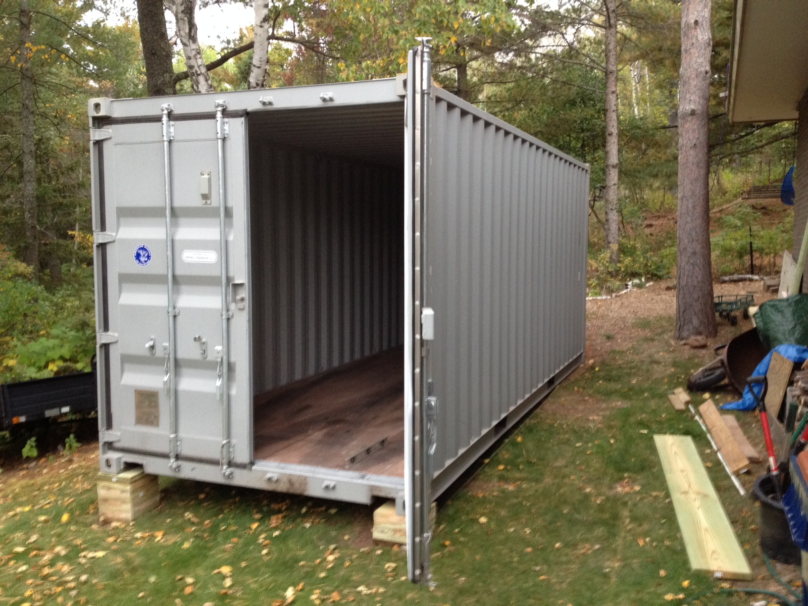 Container Barns Made Easy Shipping Containers At A Fair