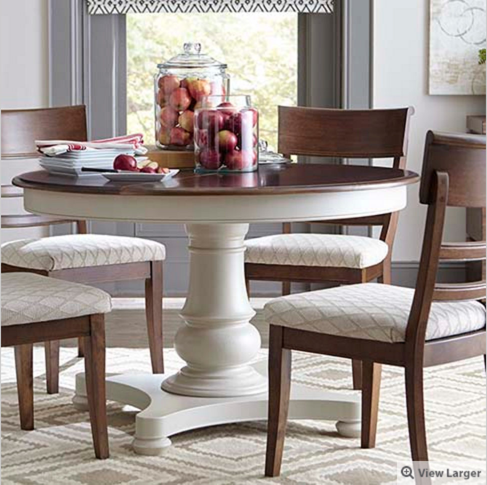 annie sloan miracle chalk paint refinish kitchen table Basset Round Dining Table