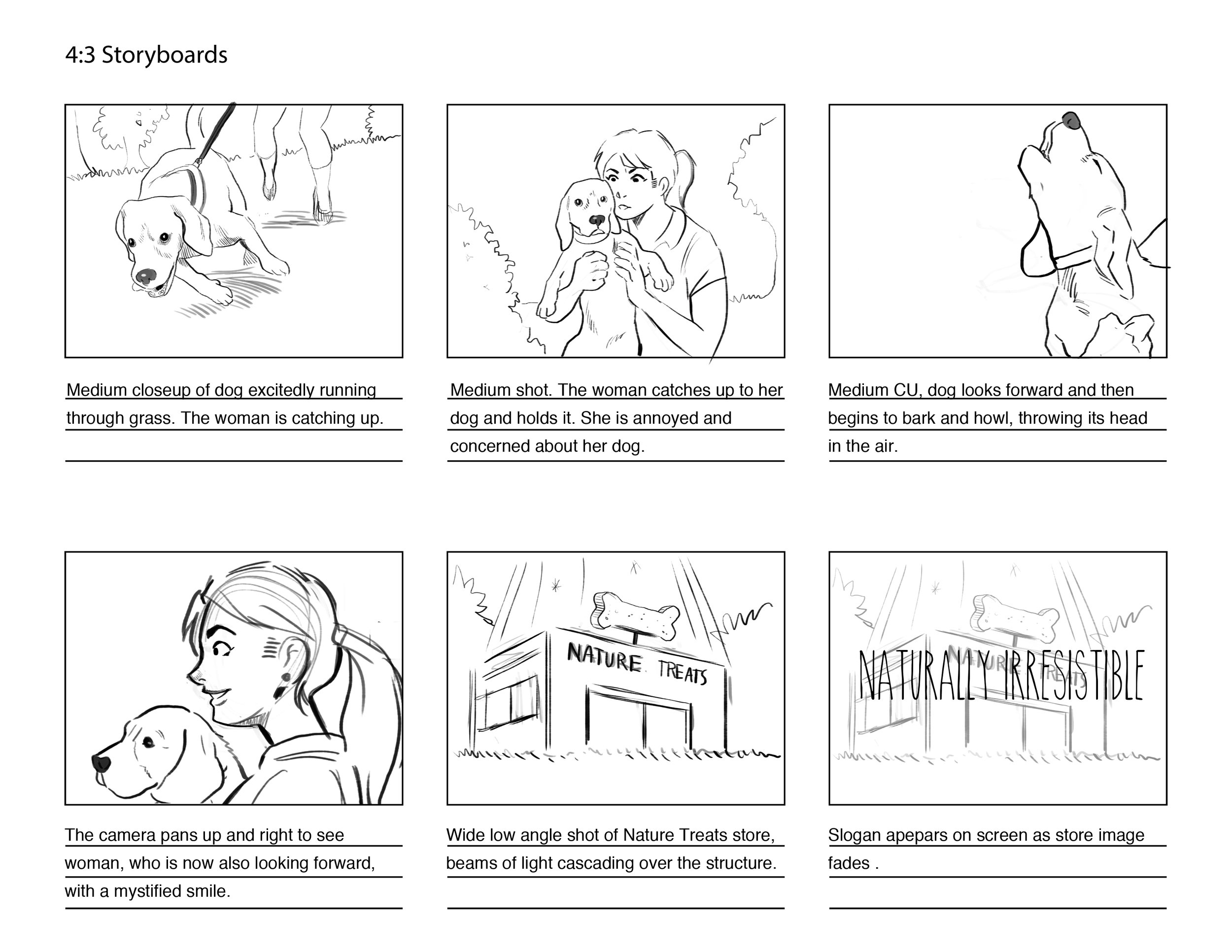 Storyboards u2014 Neal D Anderson - commercial storyboards