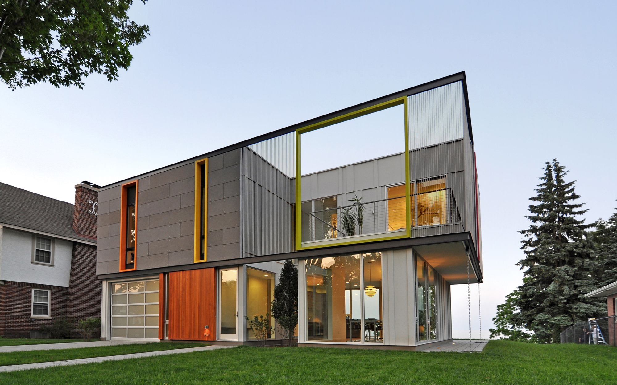 Architectural Design Of Residential Building Johnsen Schmaling Architects