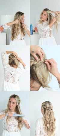 Cara Jourdan | AFLA x Glitter Guide Braided Crown Tutorial