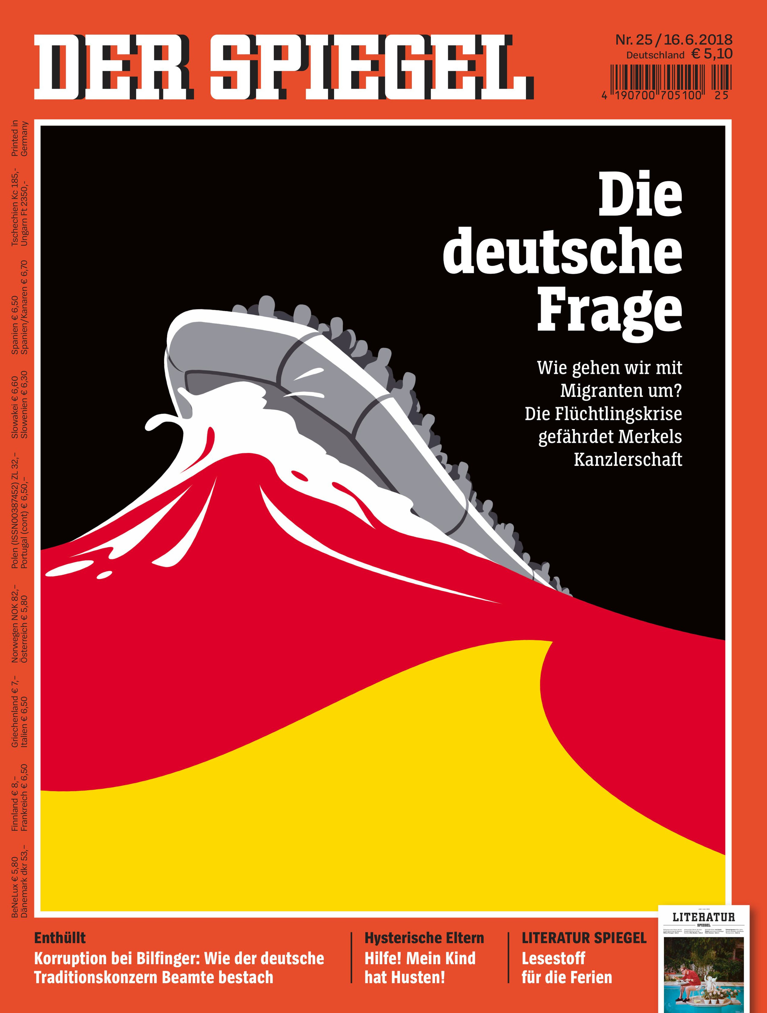 Spiegel 24 3 Consecutive Covers For Der Spiegel Lennart Gäbel Illustration