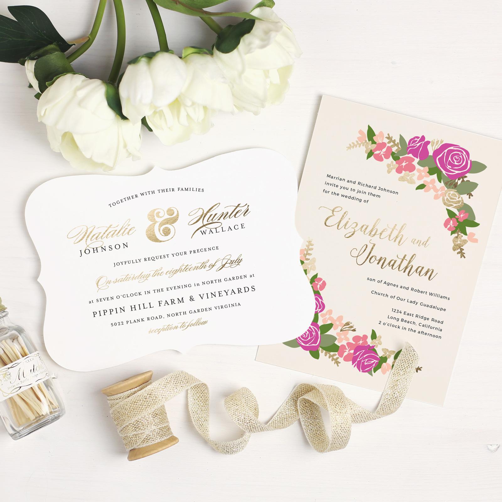 design beautiful wedding invitations online with basic invite wedding invitation online Wedding Invitations Online
