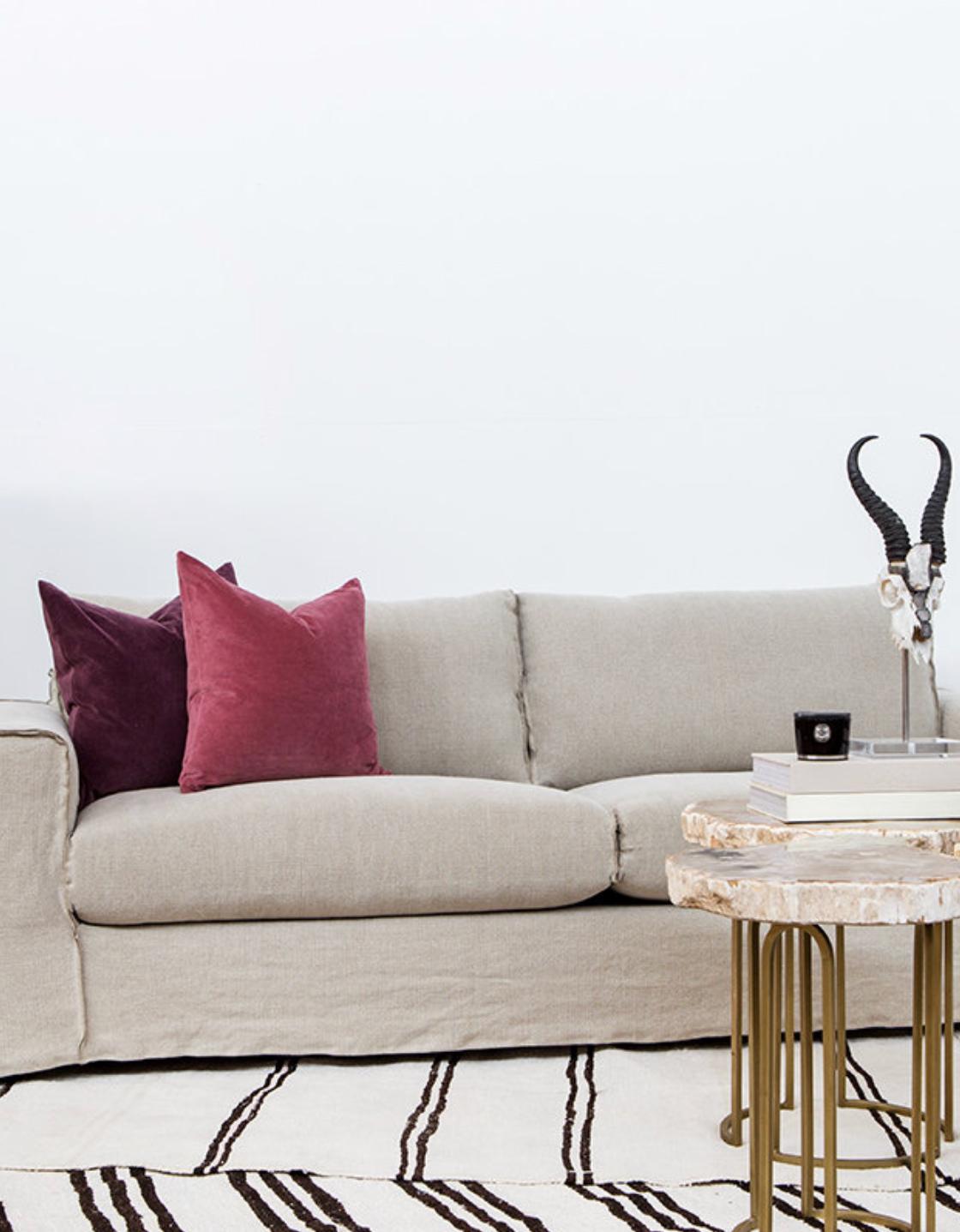 Linen Slipcovers For Sofas | Linen Slipcover Sofa Robert Redford S ...