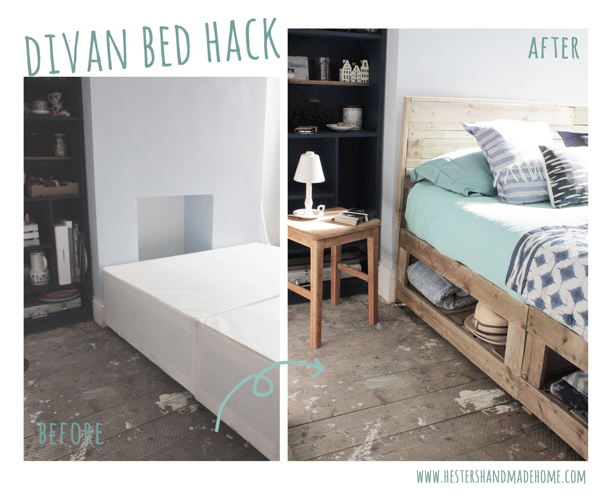 Divan Beds Cheap Divan Bed Hack Hester S Handmade Home