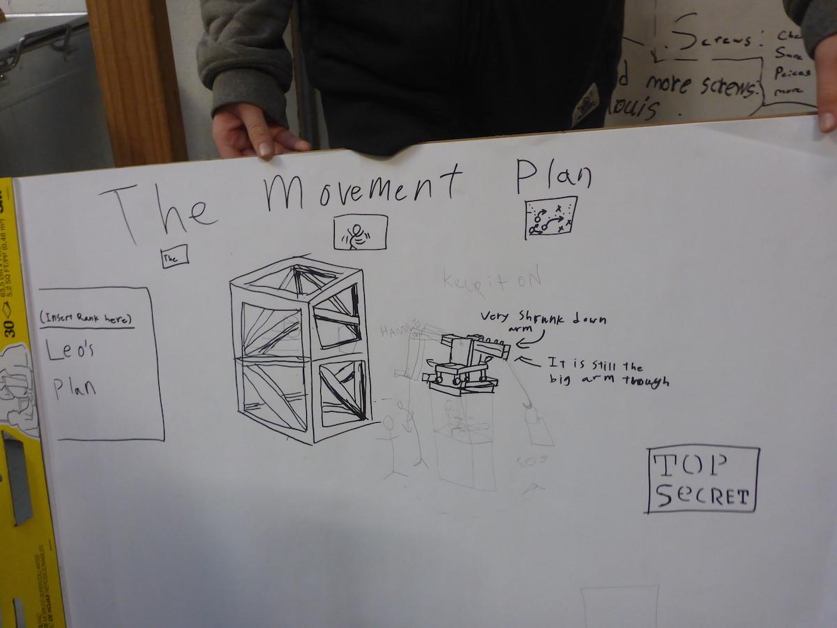 Strengthening the Crane Tower \u2014 Tinkering School