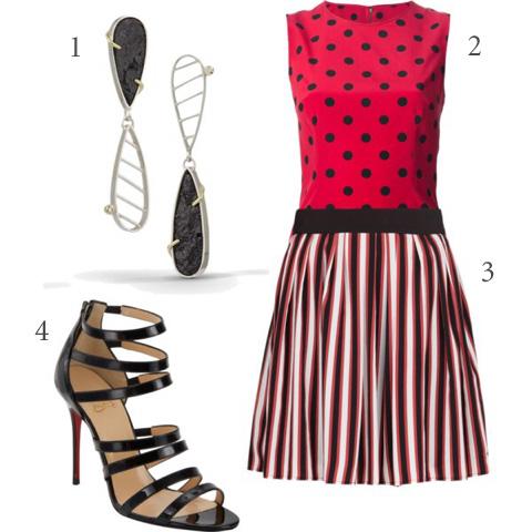 Wearing Polka Dots  Stripes \u2014 Danielle Miller Jewelry